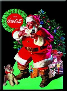 Metal Kartpostal - COCA ENJOY CHRISTMAS 15 x 21